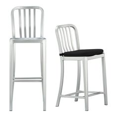 I have these both as chairs and barstools.....they are indestructible with my three boys.