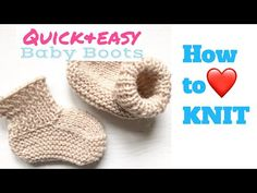Knitting Patterns For Baby Booties How To Knit Ba Booties 12 Steps With Pictures Wikihow. Knitting Patterns For Baby Booties Ba Booties Knanaknits. Knitted Baby Boots, Baby Booties Knitting Pattern, Knit Baby Booties, Baby Knitting Patterns, Knitting Videos, Easy Knitting, Knitting Socks, Knitting Pullover, Baby Sweaters