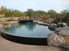 58 Best Semi Inground Pools Images Gardens Above Ground Swimming