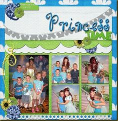Kit: Cruisin' With The Mouse by Growing Pains Scrapped Template: Love, Love Me Do Templates by Queen Wild Scraps