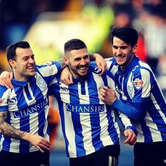 Wallace, Hooper & Lee Sheffield Wednesday Football, Brighton & Hove Albion, Football Team, Photo And Video, Couple Photos, Owls, Couple Pics, Football Squads, Owl