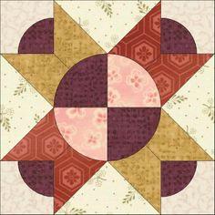 Viennese Waltz - Wiener Walzer - Friedensreich Hundertwasser Free Pattern (C) Country Rose Quilts
