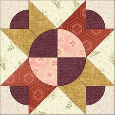 Country Rose Quilts: Wiener Walzer - Block 4