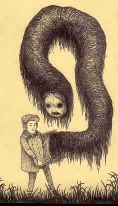 John Kenn sticky note monsters More