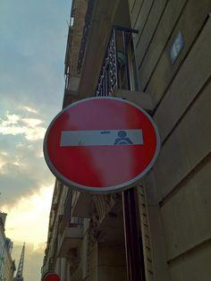 STREET ART / URBAN ART sign