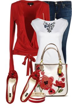 """""""Spring Floral On Fire"""" by tammylo-12 on Polyvore"""
