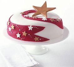 Recipe: Shooting star celebration cake