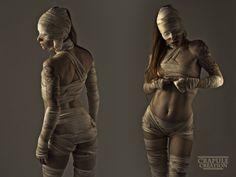 Sexy mummy costume!!