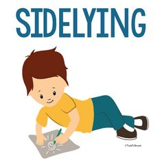 sidelying position - Copyright ToolsToGrowOT.com Repinned by SOS Inc. Resources pinterest.com/sostherapy/.