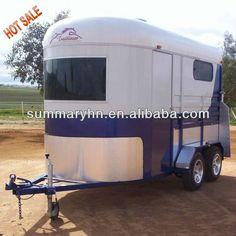 Hot sale horse trailer/float deluxe model (2 horse trailer and 3 horse trailer) $4200~$30000