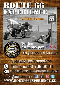 www.route66experience.eu #Route66Experience