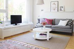 Living room / Pink  White / Valanti / Korvela / Artemide Tolomeo / Vee Speers / Designers Guild
