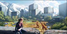 The Last of Us Concept Art - Salt Lake City