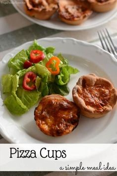 A simple dinner idea that's sure to please, if you like pizza. Easy to make pizza cups recipe that are freezer friendly too.