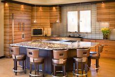 Lori carroll and associates award winning asid iida for Award winning kitchen island designs