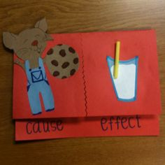 Cause and Effect, If You Give A Mouse A Cookie... this is very clever!!