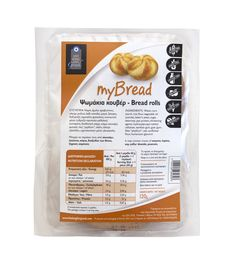Ψωμάκια Κουβέρ MyBread - 120g