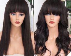 Lace front Perücke Malaysisches Haar 100 % Habe auf ein Mesh-Dome-Kappe mit Kämmen, fits one Size all. Länge: geschichtet Freien Teil Natürliche Farbe 1 b Kontakt für Anfragen über das Gerät oder Sonderanfertigung
