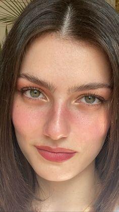 Cute Makeup, Glam Makeup, Pretty Makeup, Skin Makeup, Beauty Makeup, Makeup Looks, Hair Beauty, Model Face, Most Beautiful Faces
