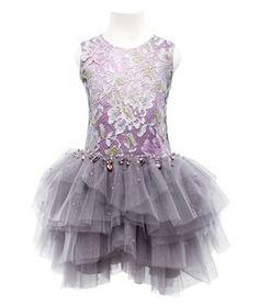 Mischka Aoki - Luxury brand for children // tulle skirted dress