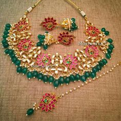 Dancing peacocks and their beautiful story Dainty Jewelry, Cute Jewelry, Boho Jewelry, Wedding Jewelry, Antique Jewelry, Handmade Jewelry, Jewelry Design, Fashion Jewelry, Gold Jewellery