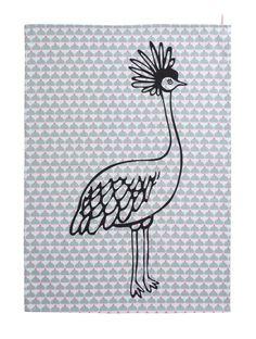 Kokette Grey Chic Tea Towel  #lacococotteparis