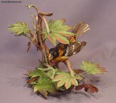 Boehm Bird Porcelain Blackheaded Grosbeak #400-03