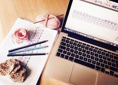 Pensando en pasar tus ideas de papel a formato digital? A veces puede ser algo complicado... Si estas buscando programa gratuito y para mac no olvides pasarte por mi blog #lovecrochet #crocheting  Looking for free #iosprograms for #crochetcharts ? It can be crazy... visit my blog for some ideas