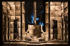 Alcune opere di costruzione delle scenografie teatrali, realizzate dagli studenti dell'Accademia di Belle Arti di Torino, in mostra all'Urp del Consiglio regionale.