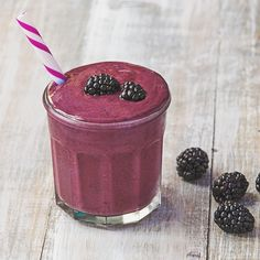 So Berry Vanilla Protein Smoothie