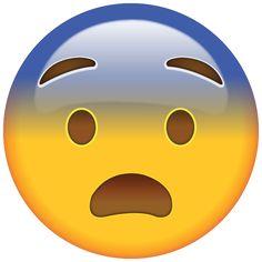 Fearful Face Emoji - Feeling a little frightened? This emoji is, too, so he'll spread the word for you. Cute Girl Wallpaper, Emoji Wallpaper, Emojis Png, Whatsapp Png, Emoji Drawings, Emoji Love, Emoji Images, Emoji Stickers, Image Fun