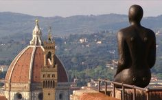 Antony Gormley in Florence