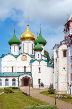 Transfiguration Cathedral in Suzdal #Travel #Russia