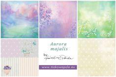Kolekcja Aurora majalis (5 papierów) :: makowepole.eu