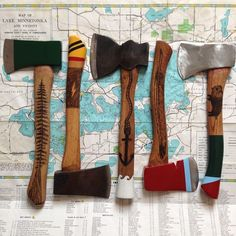 thehivernant: Heading to new homes in the coming days. Thanks everyone! #hivernant #hatchets