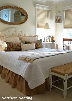Northern Nesting: New pillows for the Master Bedroom