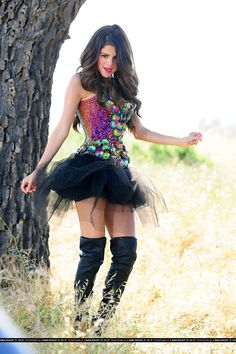 3d66ebd765ee Selena Gomez wears The Blonds for her music video Love You Like a Love Song!