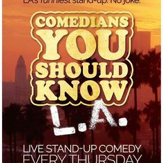 Come laugh your forking asses off every Thursday night @forksunset #sarasilverman #comediansyoushouldknow #whyspoonwhenyoucanfork by forksunset #instashare #sharingiscaring #love #theirsuccessisoursuccess