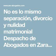 No es lo mismo separación, divorcio y nulidad matrimonial Despacho de Abogados en Zaragoza. Somos especialistas en Derecho de Familia.|Despacho de Abogados en Zaragoza. Somos especialistas en Derecho de Familia.