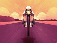 png by Mat Helme Motorcycle Posters, Motorcycle Art, Scooter Girl, Poster Design Inspiration, Paint Designs, Vintage Posters, Illustrations Posters, Illustrators, Darth Vader