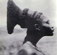 Woman from the Congo - hairstyle