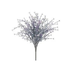 Artificial Star Flower Bush in White and Lavender 10 Stems per Bush... ($6.20) ❤ liked on Polyvore featuring home, home decor, floral decor, fake flower bouquet, star home decor, lilac bouquet, fake bouquet and white home decor