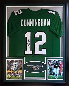 Randall Cunningham Framed Jersey Signed JSA COA Autographed Philadelphia Eagles Mister Mancave http://www.amazon.com/dp/B01779J5T8/ref=cm_sw_r_pi_dp_pvtrwb1HKNNEW