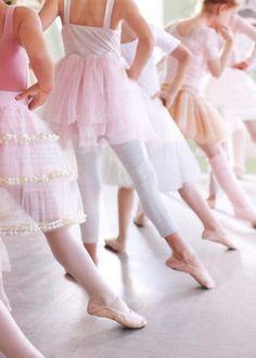 Pink ballet classe