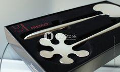 ❗ Оригинальные ложки для салата Bugatti Fresco   На каждом праздничном столе присутствие такого блюда как салат из овощей просто обязательно. Но не всегда с помощью обычных столовых приборов можно аккуратно положить порцию салата себе на тарелку. Дизайн ложек  Bugatti Fresco, Part NO.: 26-06670 от Stars Milano дарит положительные эмоции и обеспечивает легкое самообслуживание за столом.  📖 Читать подробнее…