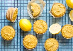 When life give you a bowl of (almost bad) lemons, you make One-Bowl Paleo Lemon Muffins!Perfectly zesty, slightly sweet and bursting with lemon flavor, these One-Bowl Paleo Lemon Muffins are super easy to make in just one bowl! No fuss. Next to no mess. Making a delicious breakfast has never
