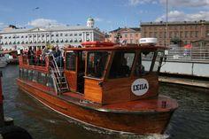 Helsinki by boat.