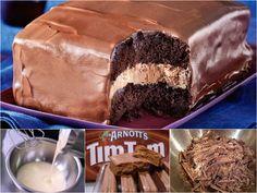 Tim Tam Cake