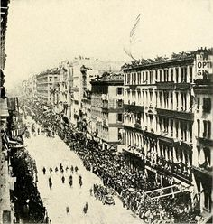 American troops in Vladivostok, Russia during the Allied intervention in the Russian Civil War, August 1918 American Presidents, American Soldiers, American Civil War, American History, History Photos, Us History, Lincoln Assassination, Site Photo, Russian Revolution