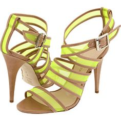 e56a5a94185 hello fabulous neon strappy heel, we have a place waiting for you in the  closet